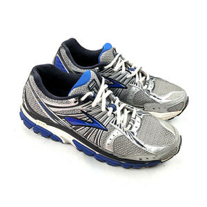 Brooks Beast 1 Athletic Running Shoe Mens Silver 9